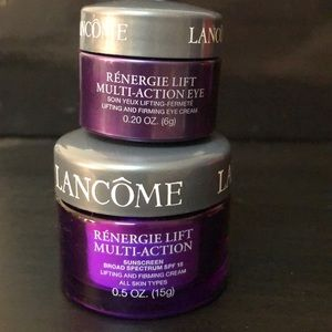 Lancôme Renergie lift multi action cream and eye